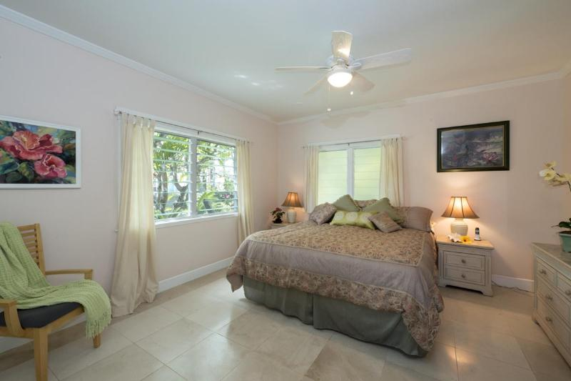 Master bedroom with in suite bath.