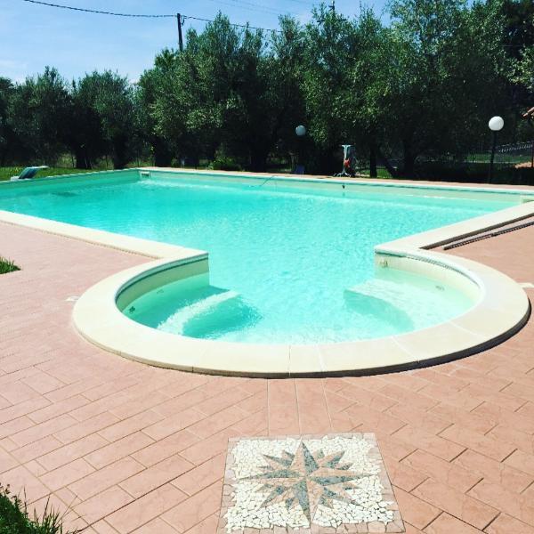 La nostra piscina con idromassaggio