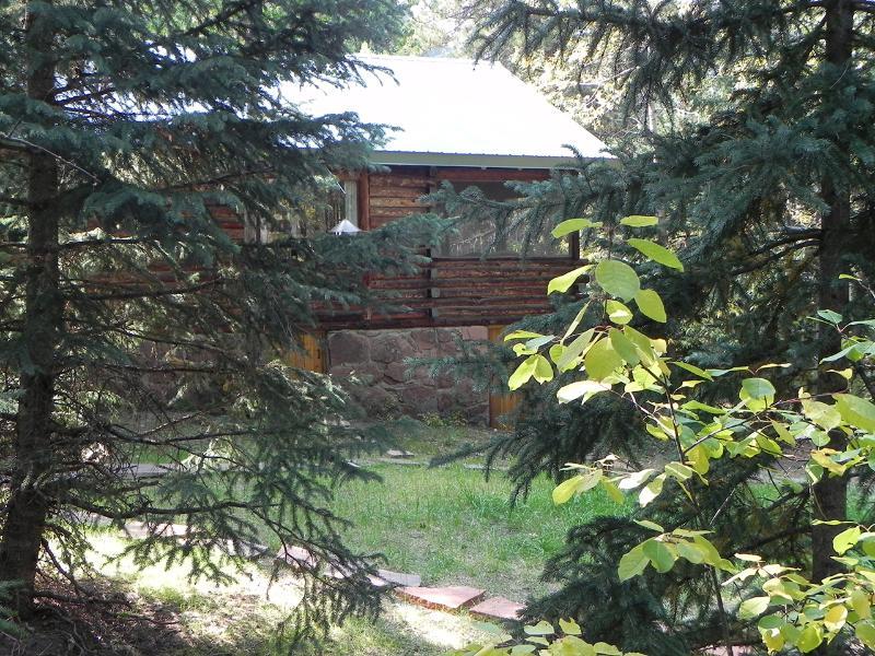 Entrada lateral Para Cabin Siga a passagem até a porta de entrada lateral