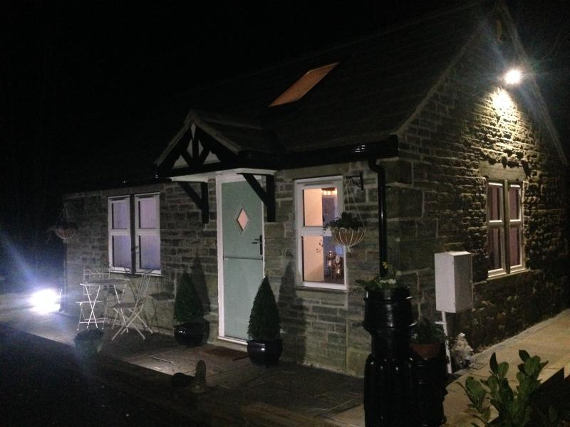Bluebell Cottage by night!