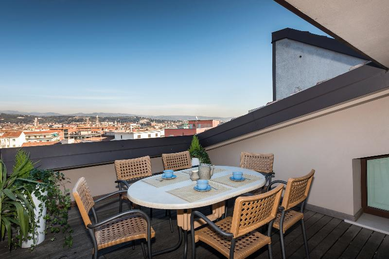 Panorama Apartment-stunning view over Verona, holiday rental in Verona