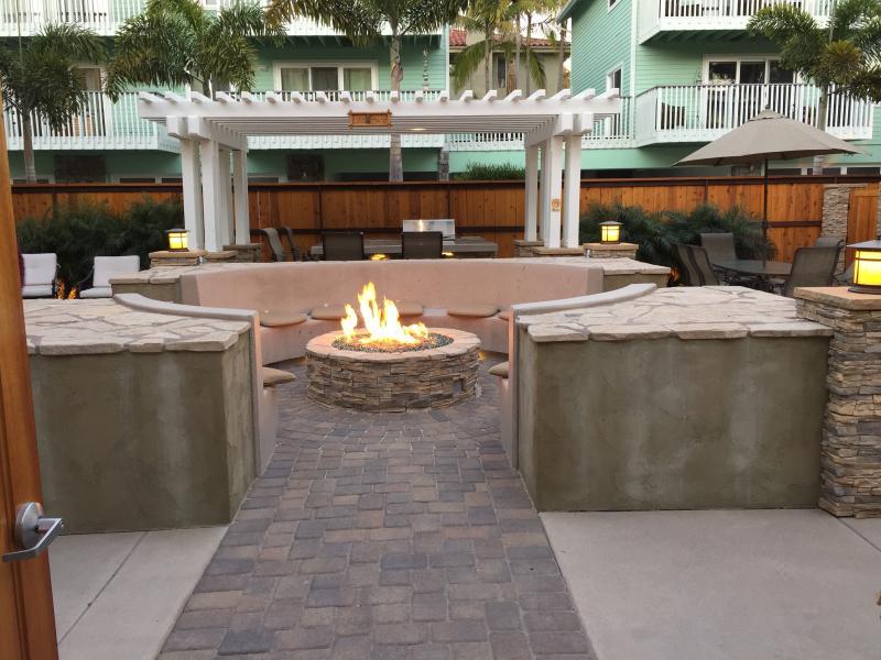 Courtyard Firepit