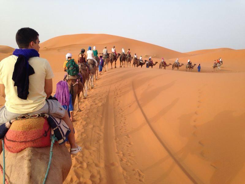 merzouga desert camp hassandesert tours