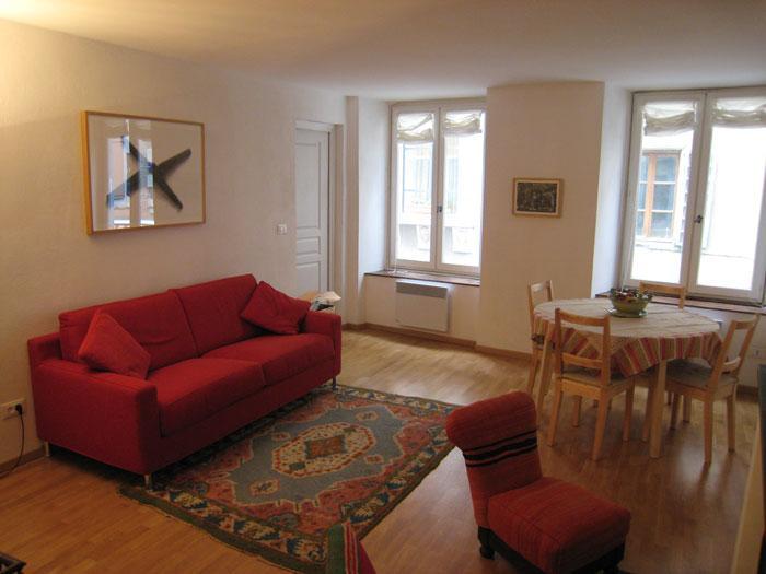 Appartamento di montagna in rocca medievale, holiday rental in Briançon