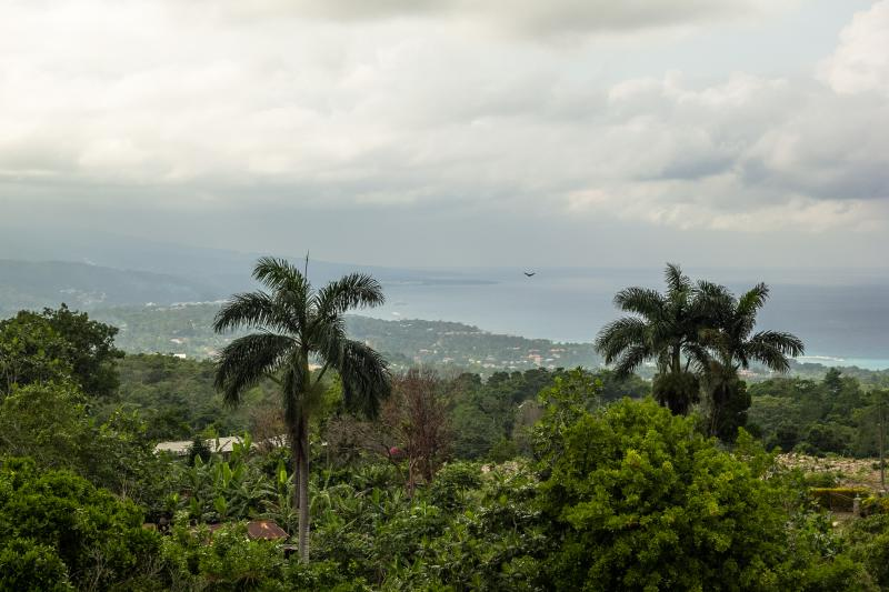 Two bedroom in the hills stunning view of coast, holiday rental in Jamaica
