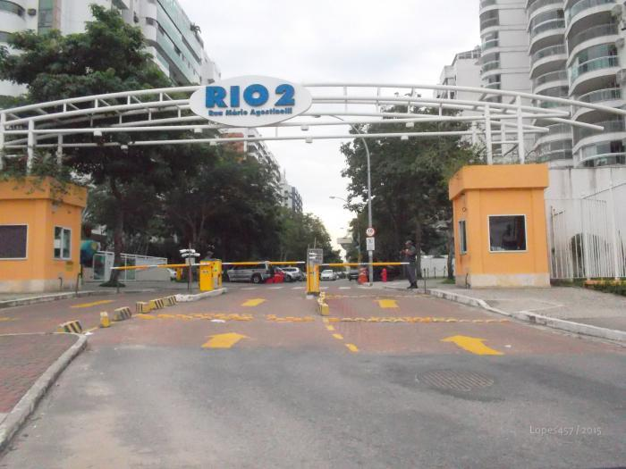 Rio 2 Condominium - 24/7 security gated entrance