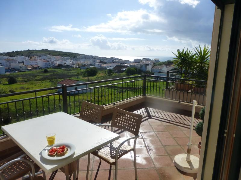 Enjoy lovely views from terrace, in relative privacy!
