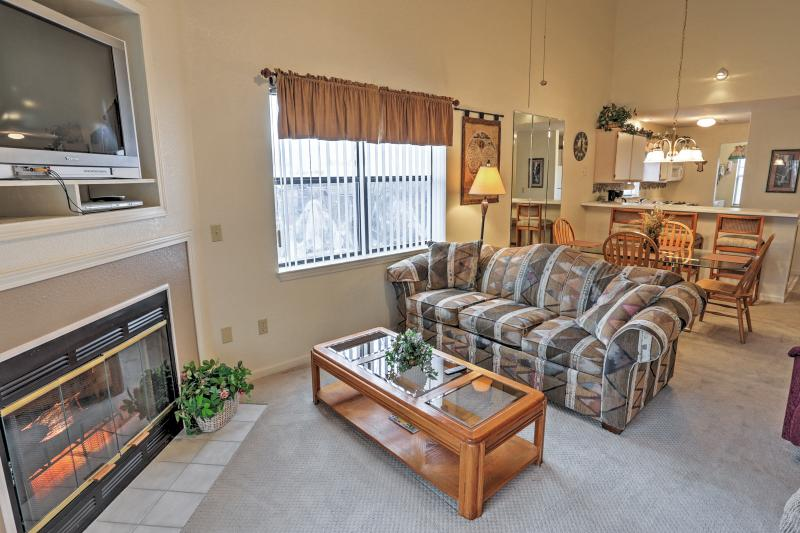 You'll feel right at home inside the inviting interior!