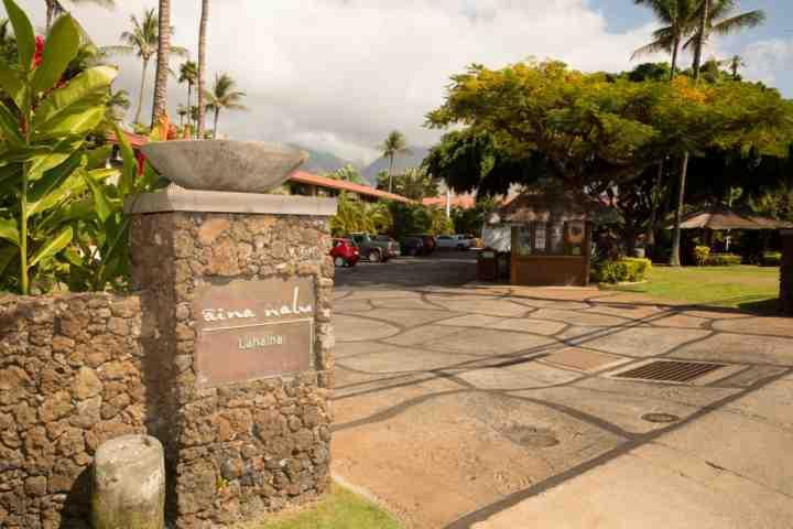 Located in the heart of Lahaina Town - Aina Nalu Resort