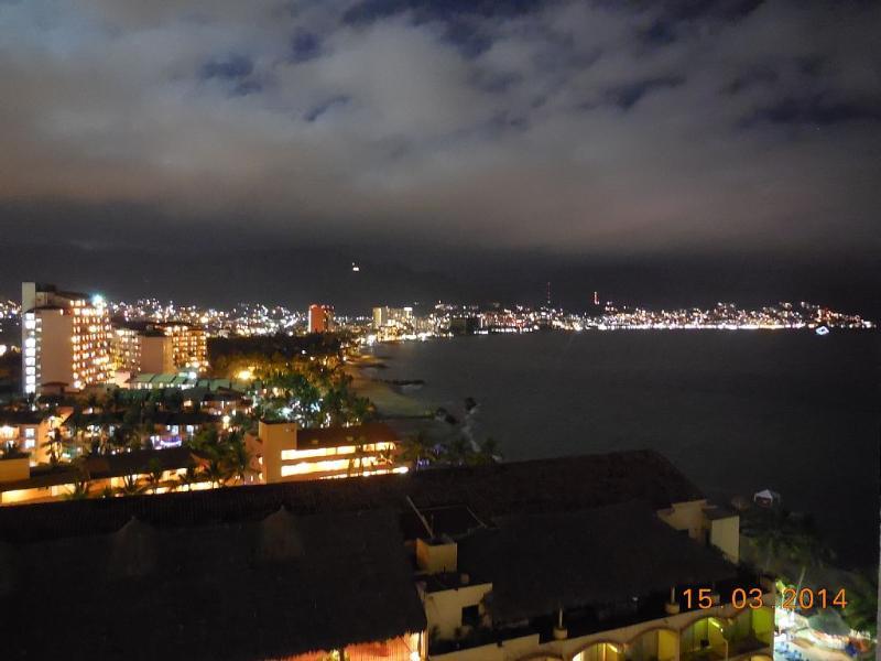 Night view of Rivera.