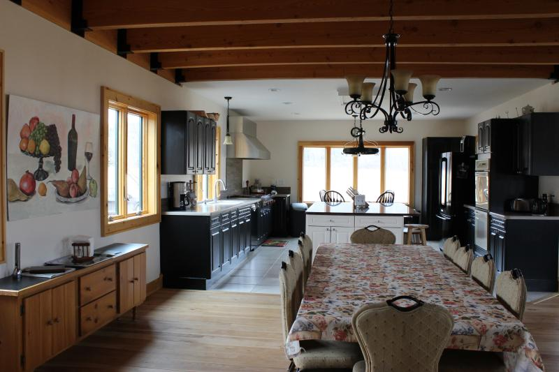 The kitchen is the heart of this home, the dining room seats 10 and more with additional tables.