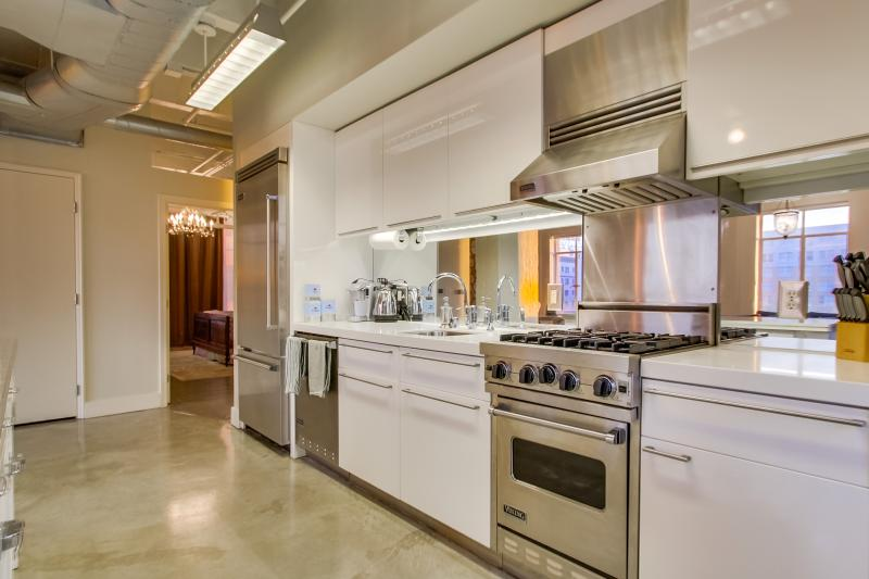 Gleaming Kitchen with quality appliances