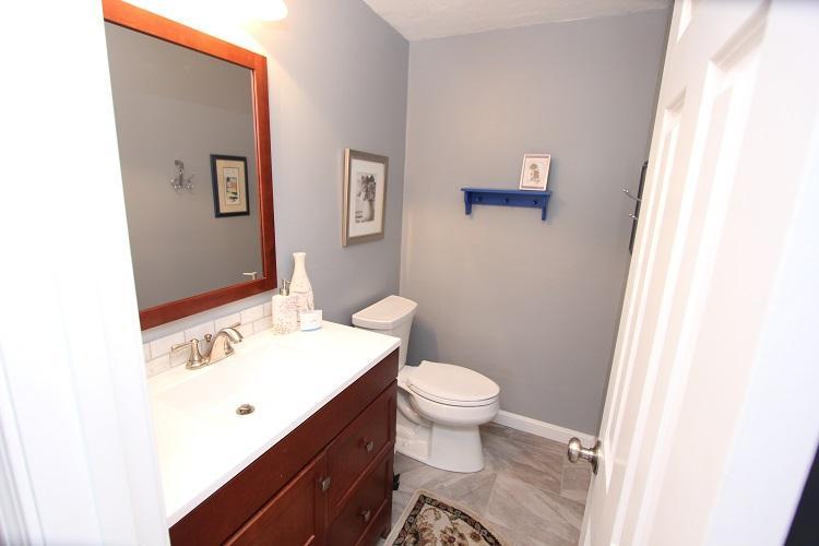 Primer piso del baño Halth