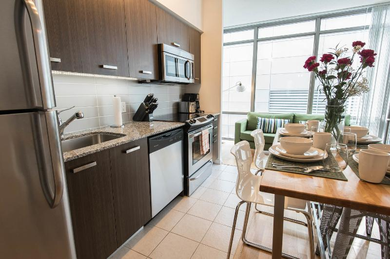 Bright and beautiful condo apartment in downtown Toronto.