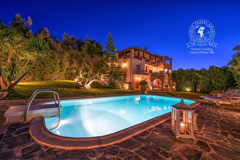 Nominee for World Travel Awards in Greece's Leading Luxury Private Villa 2016
