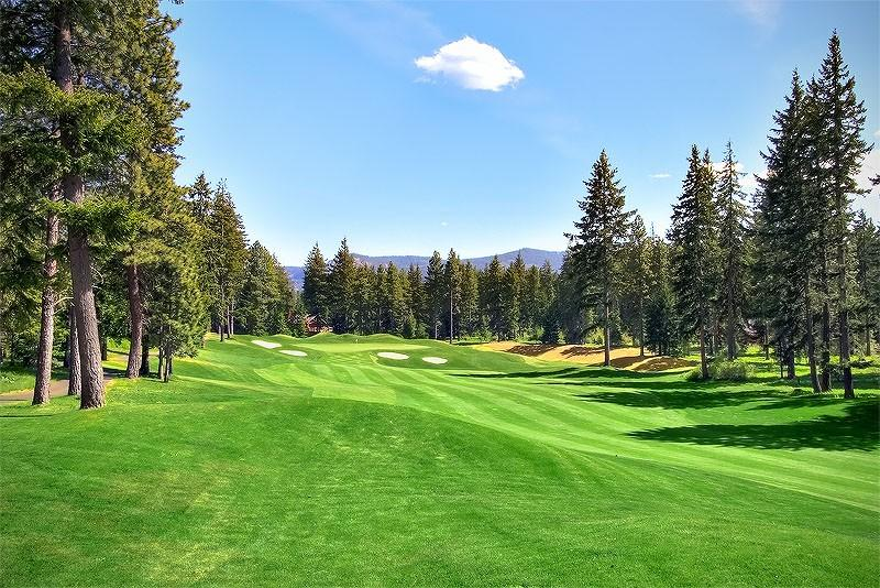 4th hole of the Prospector golf course right out the back door!