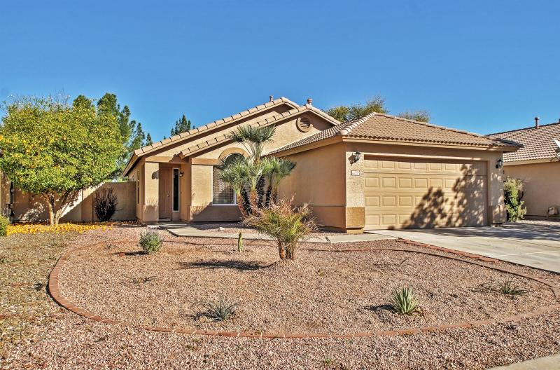 Let this stunning Gilbert vacation rental house serve as your own personal oasis during your time in sunny Arizona!