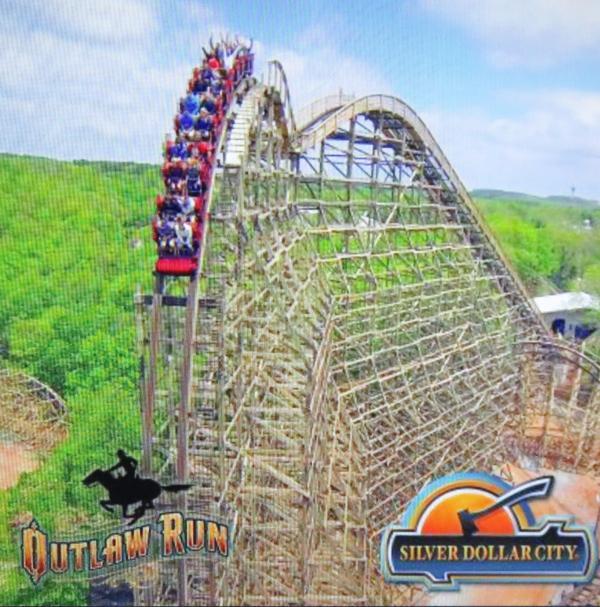 Silver Dollar City Roller Coaster fun
