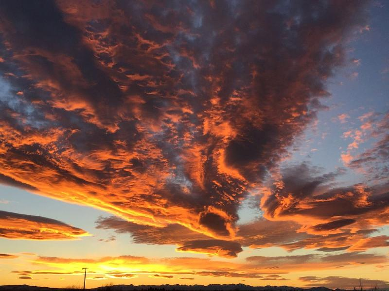 Unbelievable Montana Sunset