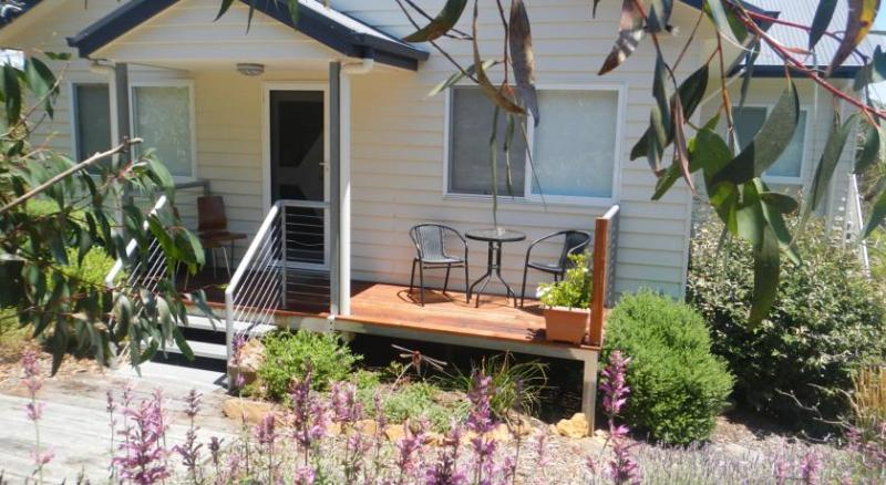 Your private sun-drenched patio overlooking the garden