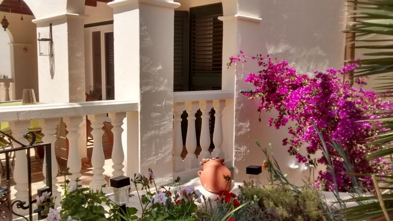 A colonial feel to the villa