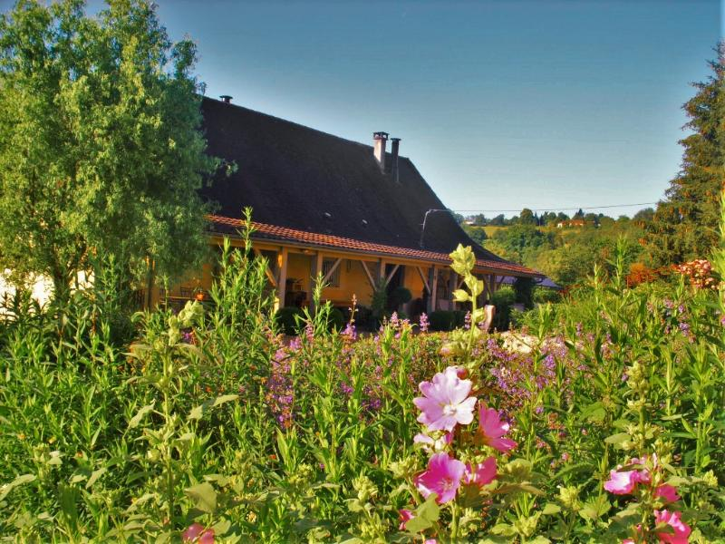 Family Farmhouse with pool and views, vacation rental in Saint-Geyrac