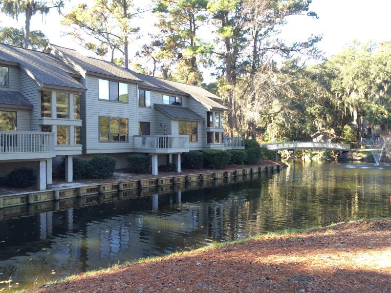 Deck side of Inland Harbour Villa