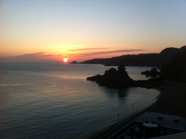 Sunrise at Bouley Bay