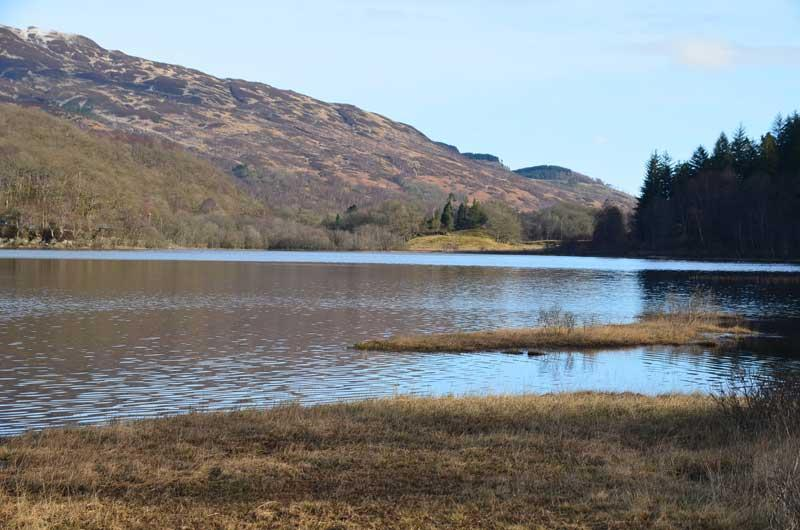 Loch Achray - just a mile from West Riding Cottage