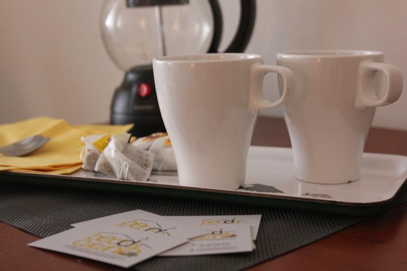 In tutte le camere viene fornito un kit per il the o il caffé