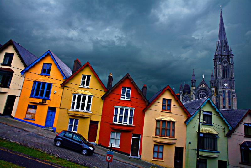 Welcome to Cobh and the charming Victorian house on the Hill!