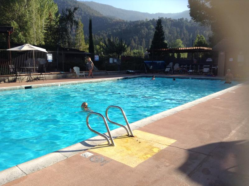 Pool at clubhouse is open in the summer till weather turns cold.