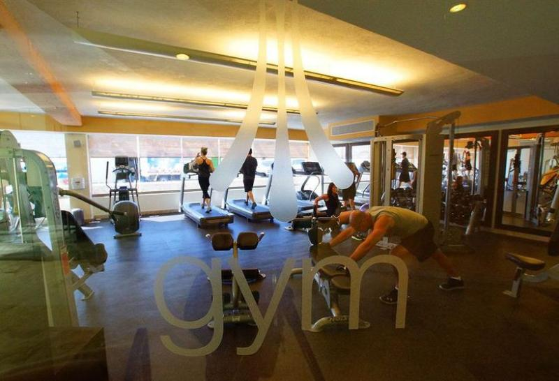 Full gym with weights, cardio and instructor requested yoga