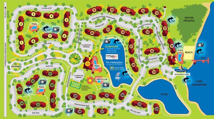 map of the resort, my condo is in building 2, ground floor, pool view