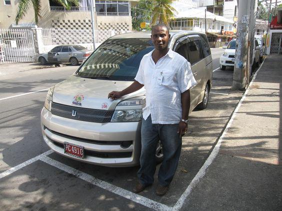 This is our driver Mr Lee who has been partnered with paradise palms Jamaica villa over 8 years.