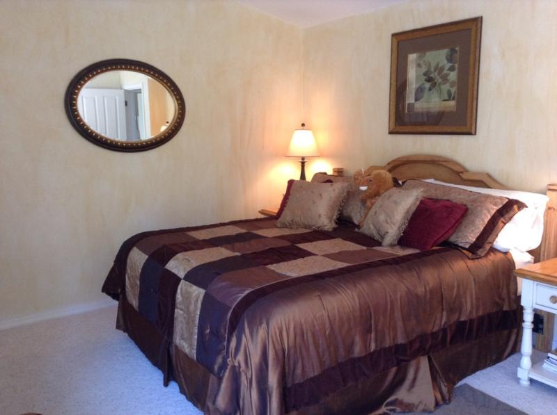 Master Bedroom with Comfortable King Bed
