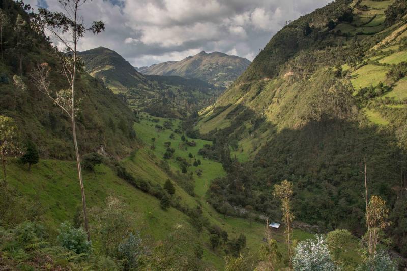 Hacienda Chan Chan - A Dairy farm, alquiler de vacaciones en Cuenca