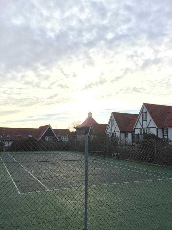 Winter tennis