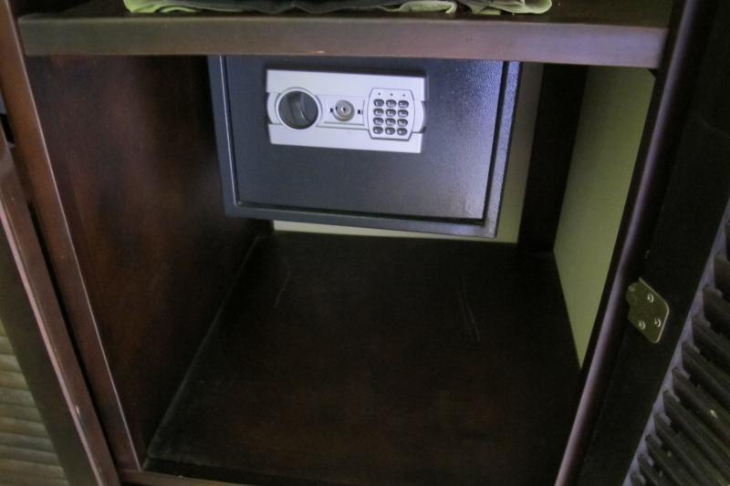 Safety Deposit Box in Master Bedroom