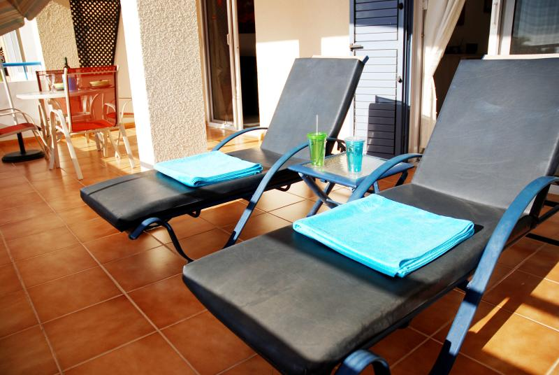 Personal Balcony Loungers - All just for you!!