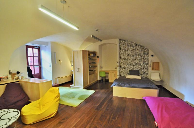 Cosy Apartment just under the Castle above the Charles Bridge, casa vacanza a Unhost