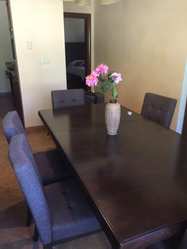 Dining room table for six