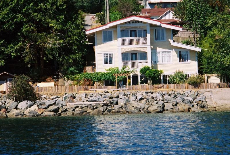 Marina House - an heritage home on the water's edge in the heart of Gibsons.