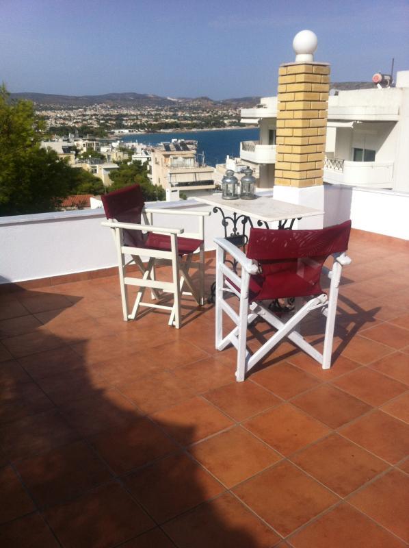 View from veranda APARTMENT