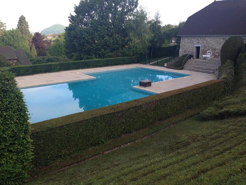 piscine pour les résidents