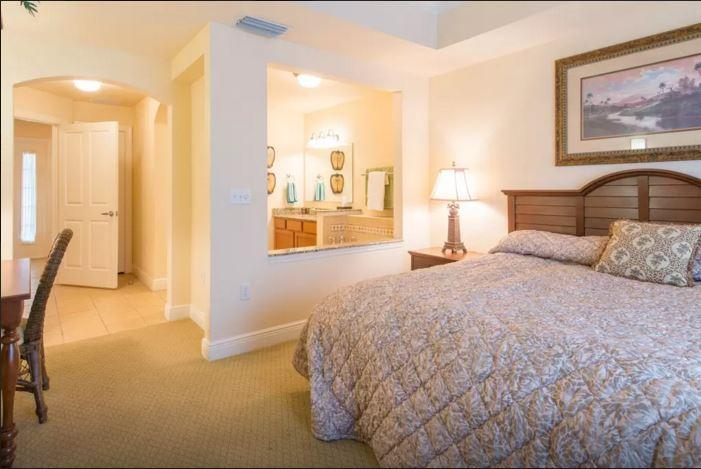 Master Bedroom and bathroom downstairs