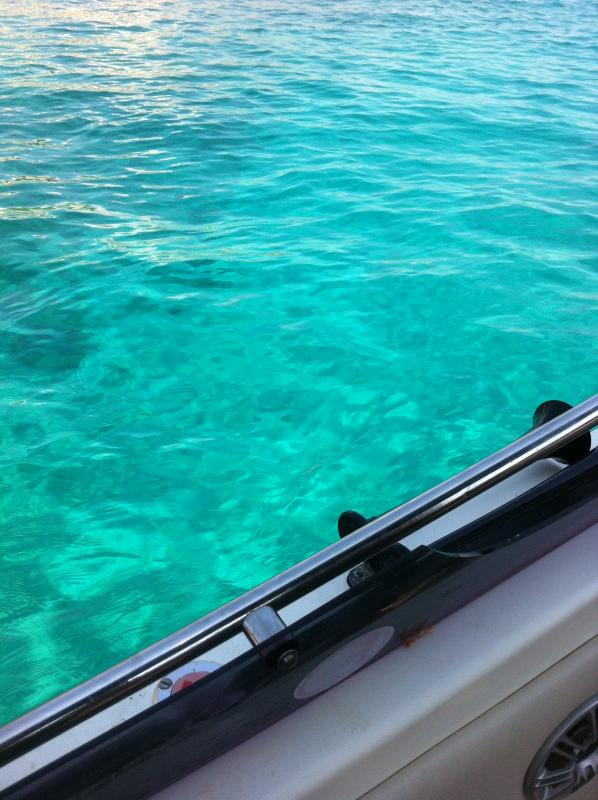our boat offered for walks and diving in the blue sea
