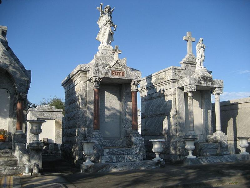 Our cemeteries are gorgeous... this is in the Garden District 8 blocks away