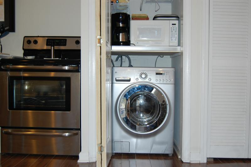 washer dryer combo and pantry