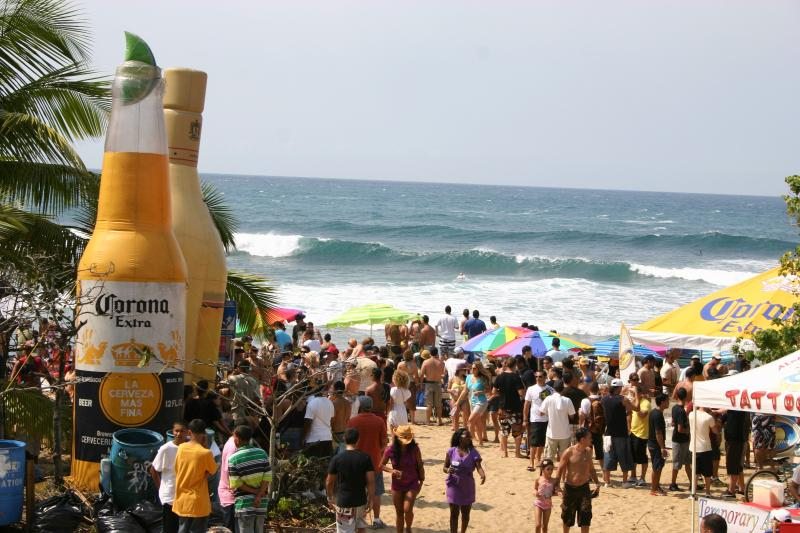 all surfing contests held at Dome Beach